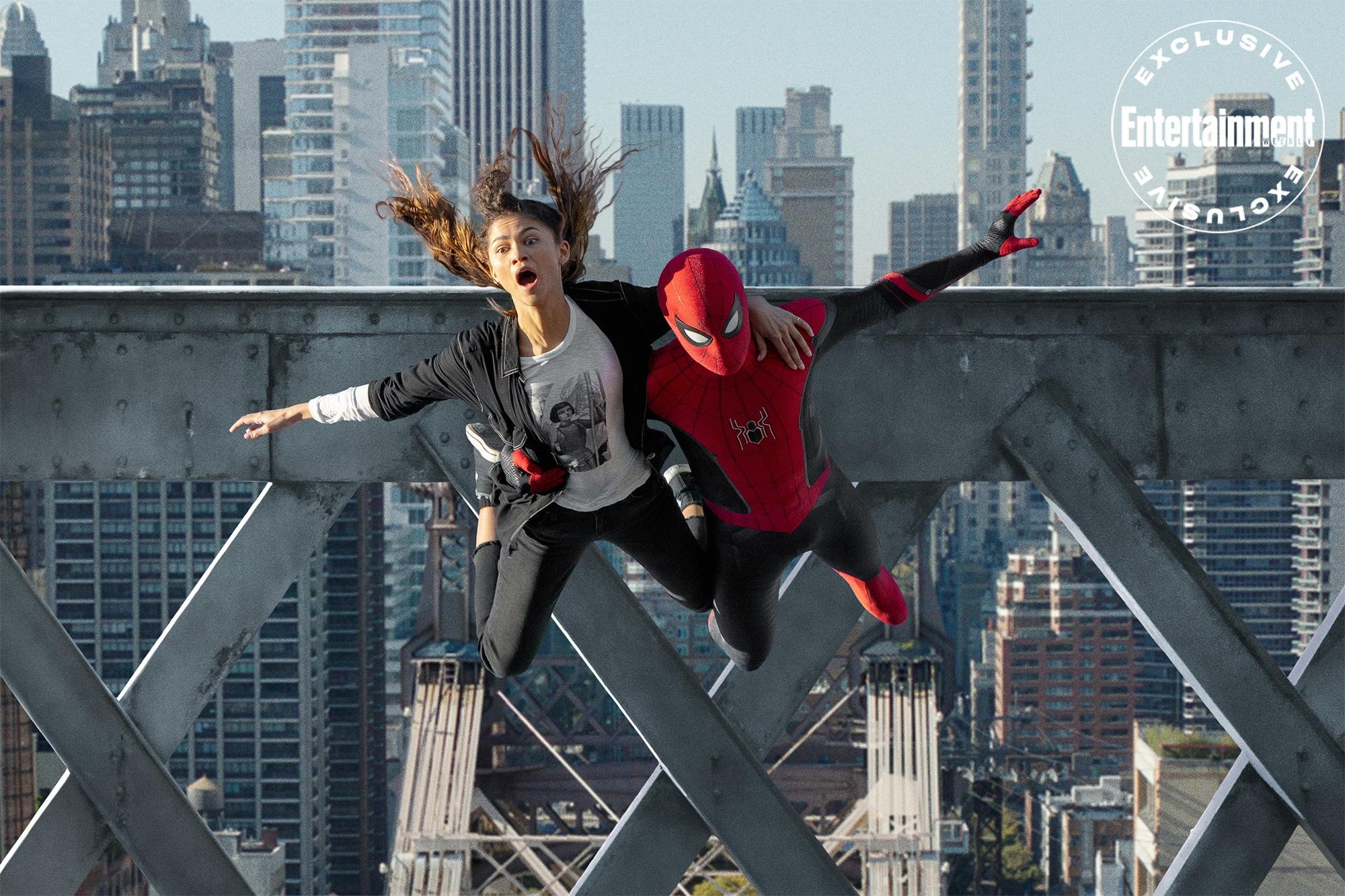 Новые кадры фильма «Человек-паук: Домашние пельмешки»
