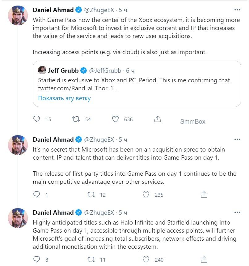 Джефф Грабб рассказал, что Starfield действительно выйдет только на PC и Xbox