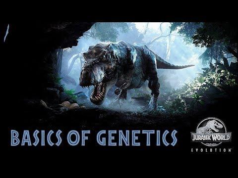 Прохождение Jurassic World Evolution #1 основы генетики