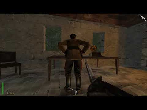 Return to Castle Wolfenstein — Оружие возмездия. База в лесу. Задание 3 часть 1