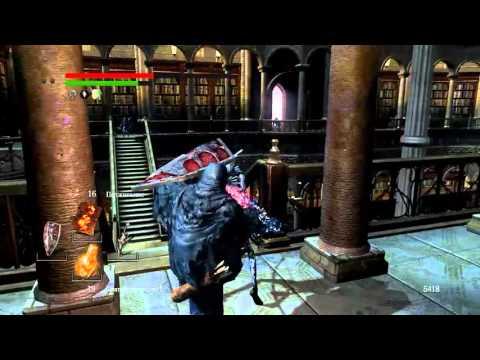 Dark Souls (прохождение) #70 — Маразм Логана и пустой склеп Нито. 160224-1