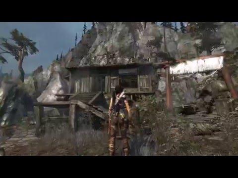 Tomb Raider (все секреты и тайники) — Вид на деревню. 20160319-6