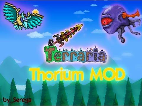 Lets Play Terraria Thorium Mod #13 Королева медузок, новый босс!