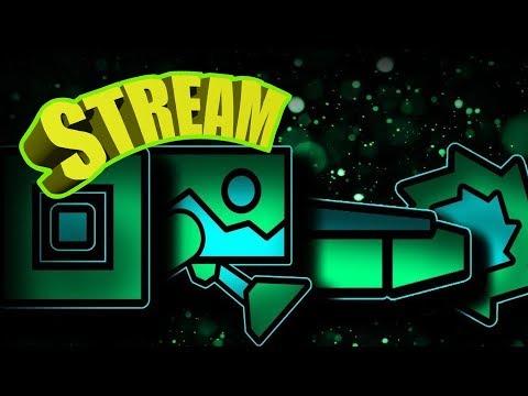 Stream Geometry Dash. Челенжи от зрителей.(REQ ON)
