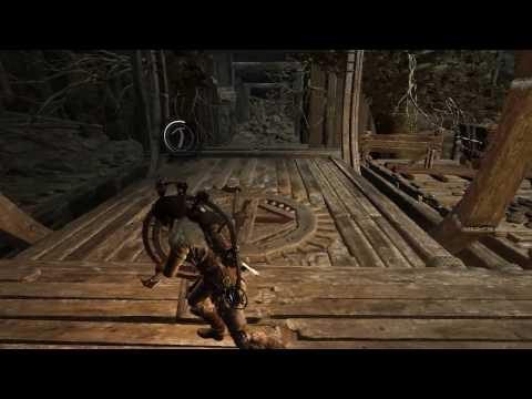 Rise of the Tomb Raider — Потайное ущелье с вагонетками (все тайники и гробницы)
