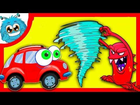 МАШИНКА ВИЛЛИ 8 — Сказка для детей. Мультик про машинки. Красная машинка на Чудики Мачудики