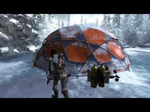 Rise of the Tomb Raider — Метеостанция — Советская база