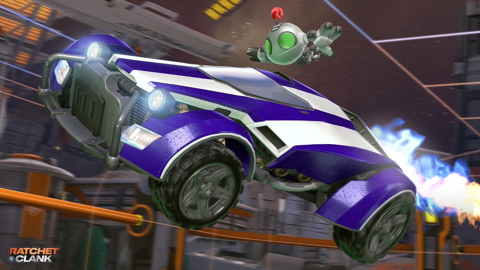 В Rocket League уже сегодня появится режим 120 герц на PS5
