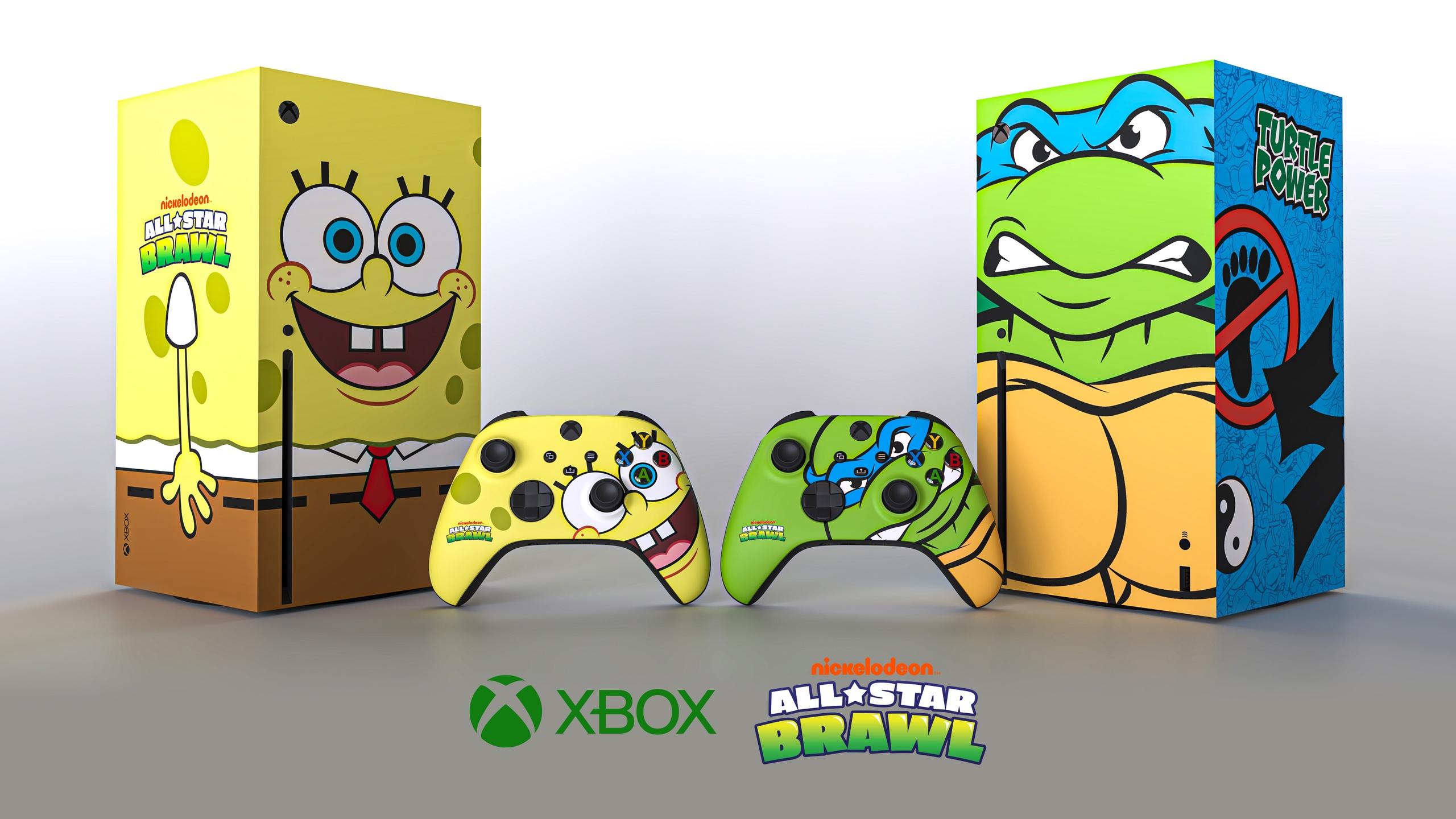 Microsoft объявила о розыгрыше в честь выхода Nickelodeon All-Star Brawl.