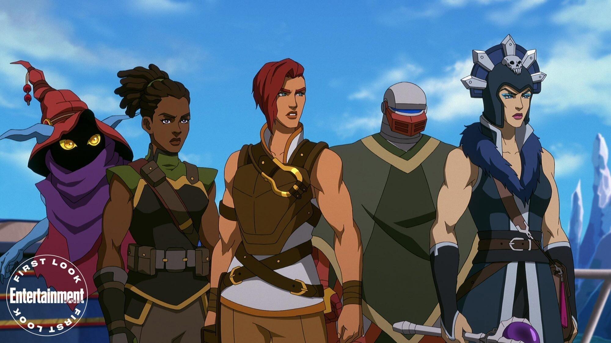 Первые кадры анимационного сериала Masters of the Universe: Revelation от Netflix